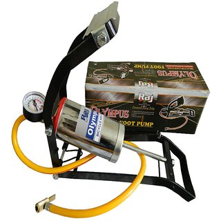 Olympus Car , Bicycle , Motorcycle Foot Pump With Heavy Compressor