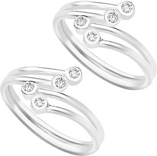 Ghosh and ghosh sterling 92.5 silver toe ring