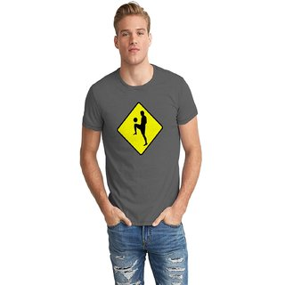 The Fappy Store Scorer Player Crossing Sign Half Sleeve T-Shirt