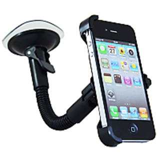 FASTOP Car Mount Cradle Holder Windshield Mobile Holder 360 Stand / GPS Suction Holder For   Ford Figo  1.5D BASE MT