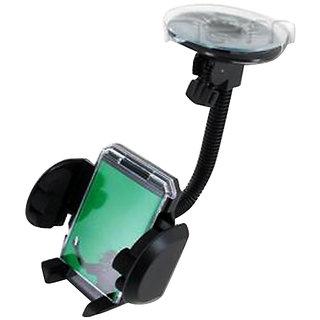 FASTOP Car Mount Cradle Holder Windshield Mobile Holder 360 Stand / GPS Suction Holder For   MARUTI GYPSY   KING SOFT TOP MPI