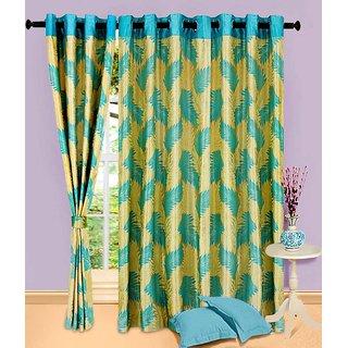 Home Sazz Set of 3 Eyelet Curtain