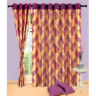 Home Sazz Set of 3 Eyelet Curtain