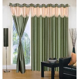 Home Sazz Set of 4 Window Eyelet Curtain