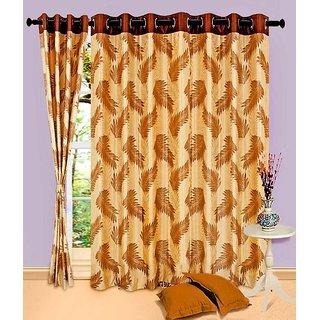 Home Sazz Set of 4 Eyelet Curtain