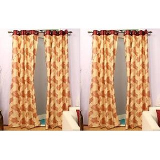 Home Sazz Set of 2 Eyelet Curtain