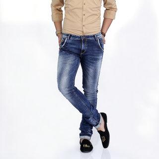 Nostrum Jeans Blue Men's Slim fit Jeans