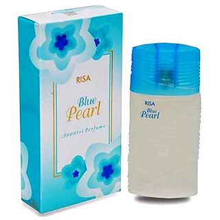 Riya Blue Pearl spray perfume men 30 ml