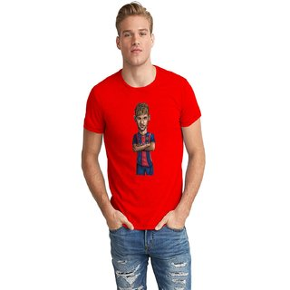 The Fappy Store Neymar Half Sleeve T-Shirt