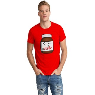 The Fappy Store Nutella Half Sleeve T-Shirt