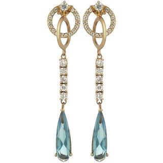 World of Silver 92.5 Sterling Silver Dangle  Drop Earrings for Women