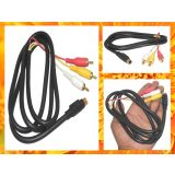 3 Rca To 7 Pin S Video Tv Cable Rca Av Cable