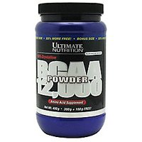 Ultimate Nutrition Bcaa Powder 12000 Blue Rasberry 457Gm
