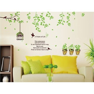 Walltola Pvc Tv Background Removable Wall Sticker (59X47 Inch)