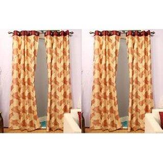Home Sazz Set of 6 Eyelet Curtain