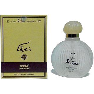 OSSA gold Naina perfume for men 60 ml