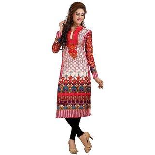 Women's Semi Lon Unstitched Dress Material for women