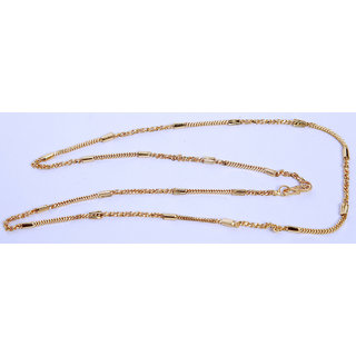 Gold Plated Beautiful Pearl Beads Necklace Chain