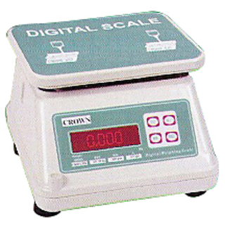 The compact electronic weighing scale