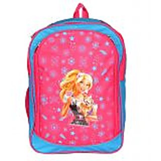 PARADIGM FASHIONS Princess Blue Pink School Bag for Kids