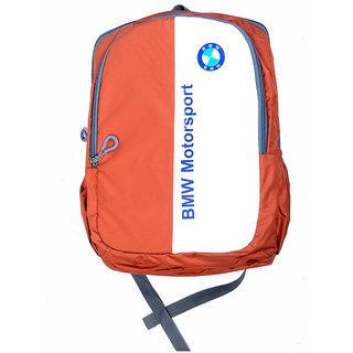 bmw motorsport orange backpack buy bmw motorsport orange. Black Bedroom Furniture Sets. Home Design Ideas