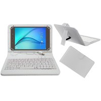 Krishty Enterprises 7 Inch Keyboard For IBall Slide Gorgeo 4GL Tablet (White)