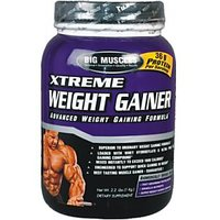 Big Muscle Xtreme Weight Gainer Strawberry 1Kg