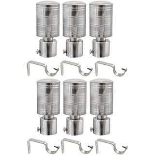 Buy Hans Enterprise Set Of 6 Stainless Steel Single