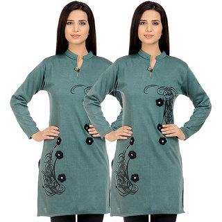 1c52eade3 Buy Rakshita Collection Winter Kurti Set of 2 Online - Get 80% Off