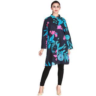 Vaio Fashion Multi B Collar /Chineese Collar With Front Open Tunic/Kurti
