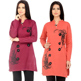 Christy Collection Winter Kurti Set of 2