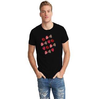Dreambolic Strawberries Half Sleeve T-Shirt