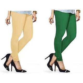Cotton Casual and Party Wear Leggings Pack of 2
