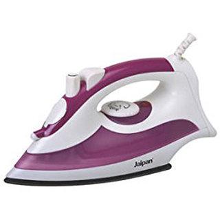 Jaipan JP-9015 1200-Watts Trinity Electric Steam Iron (White  Purple)
