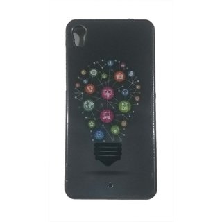 EXTRA Premium Quality Printed Back Case Cover For Micromax A104 (Design 1)