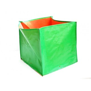 HDPE Grow bags 5 Nos  size 12 x 12 x 12  inch Terrace/Kitchen Garden