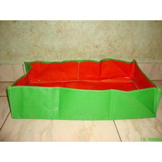 HDPE Grow bags 5 Nos  size 24 x 12 x 9  inch Terrace/Kitchen Garden