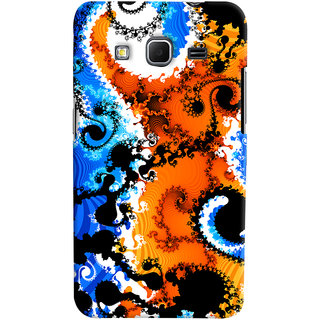 Oyehoye Samsung Galaxy Core Prime G360 Mobile Phone Back Cover With Colourful Art Pattern Style - Durable Matte Finish Hard Plastic Slim Case