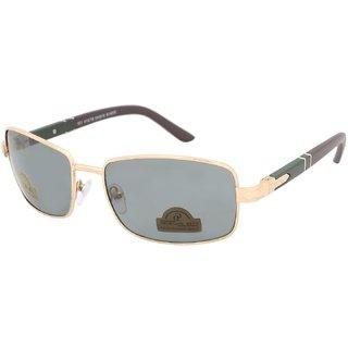 AAO+ Glass Polarized Lens Rectangular Sunglasses-dolo111