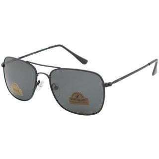 AAO+ Glass Polarized Lens Rectangular Sunglasses-dolo115