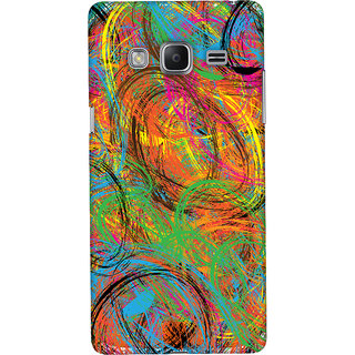 Oyehoye Samsung Galaxy Z3 Mobile Phone Back Cover With Colourful Pattern Style - Durable Matte Finish Hard Plastic Slim Case