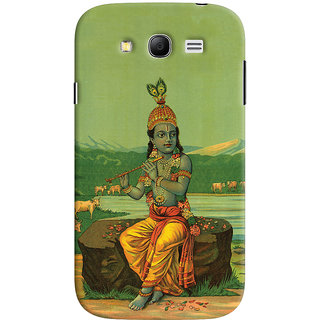 Oyehoye Samsung Galaxy Grand Neo Plus Mobile Phone Back Cover With Vintage Krishna Poster - Durable Matte Finish Hard Plastic Slim Case
