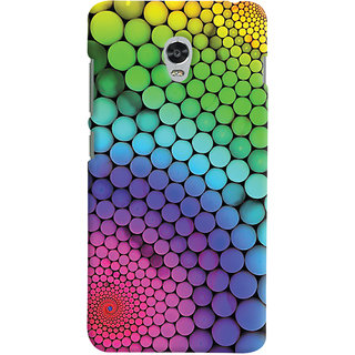 Oyehoye Lenovo Vibe P1 Mobile Phone Back Cover With Colourful Pattern Style - Durable Matte Finish Hard Plastic Slim Case