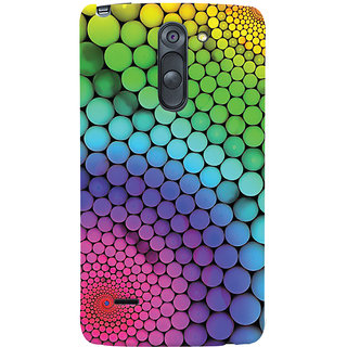Oyehoye LG G3 Stylus / Optimus G3 Stylus Mobile Phone Back Cover With Colourful Pattern Style - Durable Matte Finish Hard Plastic Slim Case