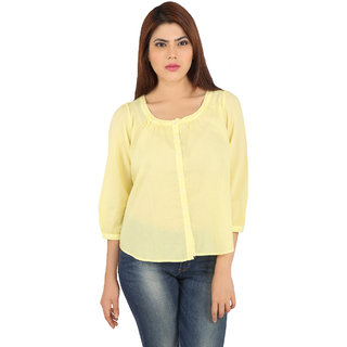 Pinklady Yellow top
