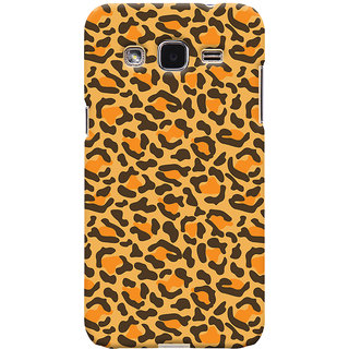 Oyehoye Samsung Galaxy J2 Mobile Phone Back Cover With Animal Print - Durable Matte Finish Hard Plastic Slim Case