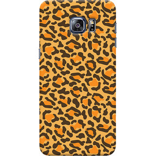 Oyehoye Samsung Galaxy S6 Edge Mobile Phone Back Cover With Animal Print - Durable Matte Finish Hard Plastic Slim Case