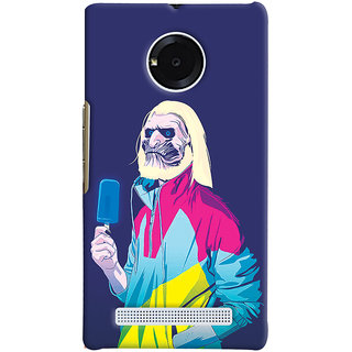 Oyehoye Micromax Yuphoria Mobile Phone Back Cover With Game Of Thrones Quirky - Durable Matte Finish Hard Plastic Slim Case