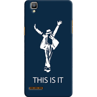 Oyehoye Oppo F1 Mobile Phone Back Cover With This is it Michael Jackson - Durable Matte Finish Hard Plastic Slim Case