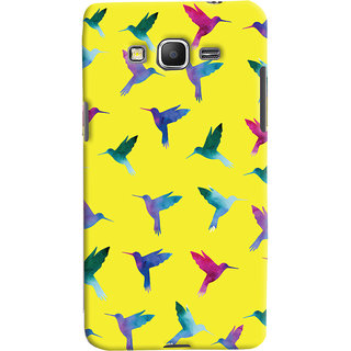 Oyehoye Samsung Galaxy Grand Prime Mobile Phone Back Cover With Bird Pattern - Durable Matte Finish Hard Plastic Slim Case
